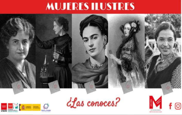 Tip virtual: «mujeres ilustres»