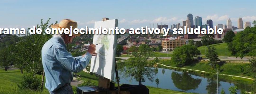 Programa de envejecimiento activo y saludable Comunidad de Madrid